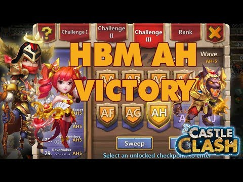 HBM WAVE AH 5 VICTORY - DOVE KEEPER | CASTLE CLASH