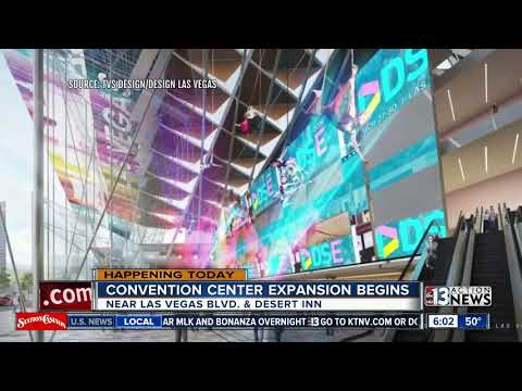 Convention Center expansion beginning