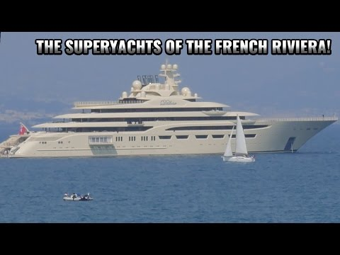 French Riviera: Day 5 - The SuperYachts of the French Riviera