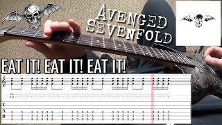 Avenged Sevenfold - A Little Piece of Heaven | PoV/Tab Guitar Lesson