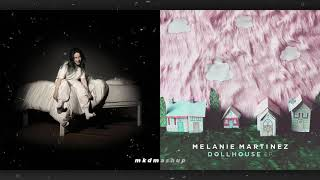 ILOMILO vs. DOLLHOUSE - Billie Eilish vs. Melanie Martinez [MASHUP]