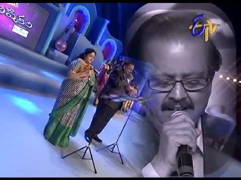 Swarabhishekam - S.P.Balu, Chithra Performance - Sundari Nene Nuvvanta Song - 24th August 2014