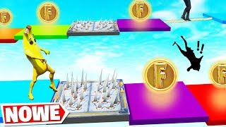 Losowa GRA PLANSZOWA MiniGra! (Fortnite Creative Gamemode)