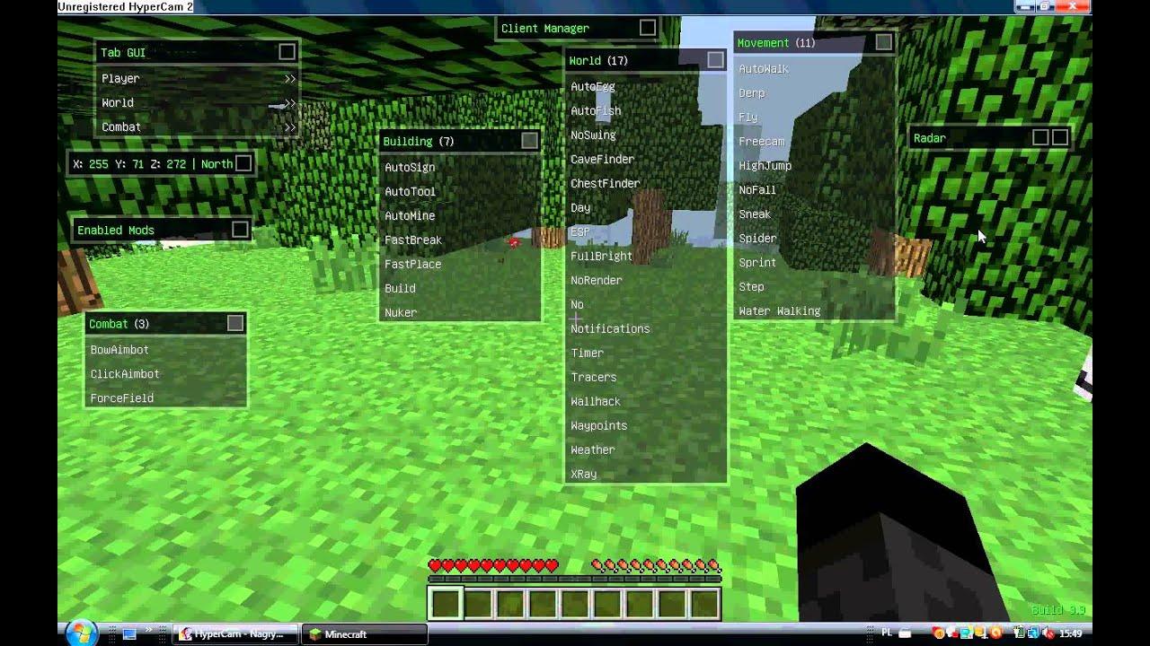 Чит Nodus для minecraft 1.5.2 скачать бесплатно