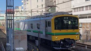 E493系オク01編成 常磐線内性能試運転 柏駅通過