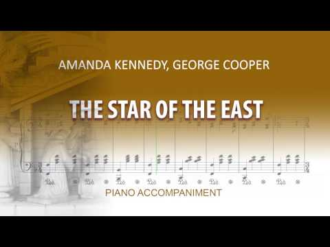 The Star of The East / Karaoke piano / Amanda Kennedy, George Cooper / Medium Voice