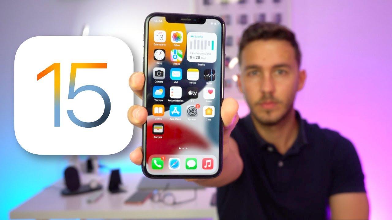 Download iOS 15 SALE HOY, 20 novedades más IMPORTANTES que debes saber 🔥