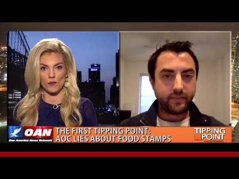 WATCH: Hammer On 'Tipping Point With Liz Wheeler': AOC Lied About Food Stamps