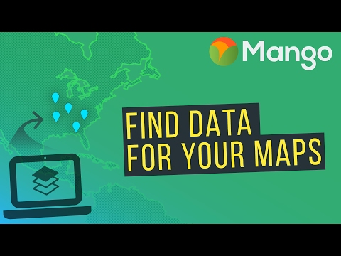 How To Source GIS Map Data