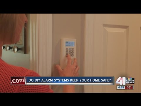 Do DIY alarm systems keep your home safe?