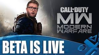 Call Of Duty: Modern Warfare - The Beta Is Live!
