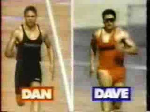 Reebok Commercials - Dan and Dave - 1992
