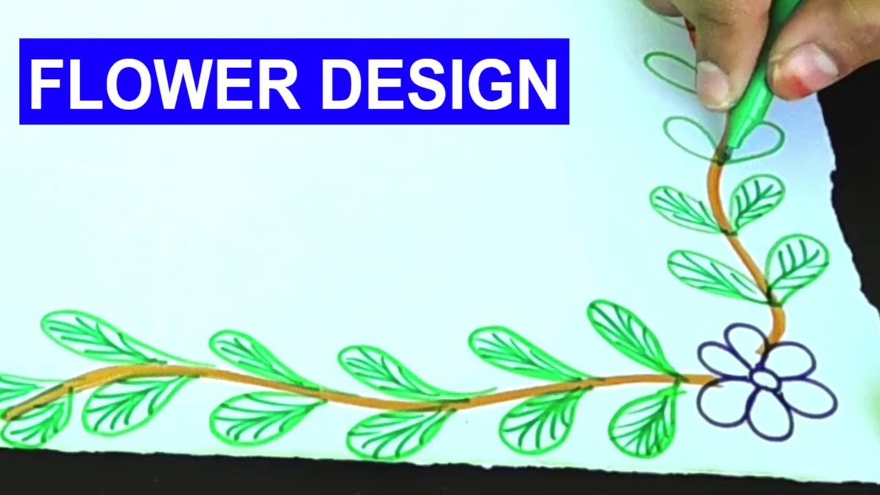 easy border design for project