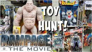 Rampage Toys At Walmart Toy Hunting Wwe Monsters Black Panther
