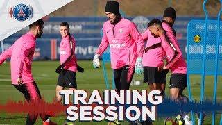 ⚽️ Les 15 premières minutes d'entraînement avant Paris Saint-Germain 🆚Montpellier HSC #PSGlive