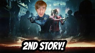 WE GOT TO FIND CLAIRE - RESIDENT EVIL 2 LEON 2 #1