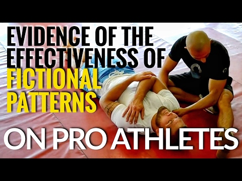 Evidence of the Effectiveness of Fictional Patterns on Pro Athletes