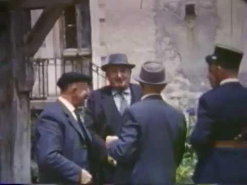 1961 - Scènes de vie du village  Les Gets