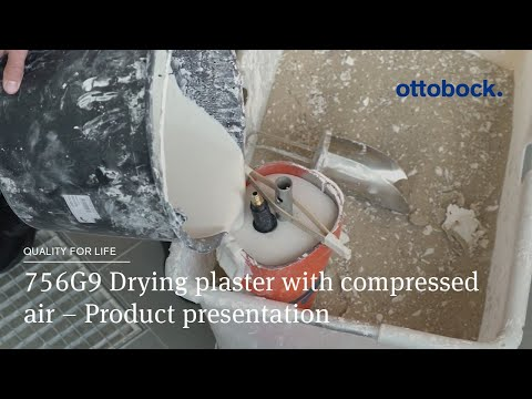 756G9 Drying Plaster With Compressed Air – Product Presentation │ Ottobock
