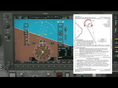 KIWA VOR 30 C Instrument Approach, X Plane 10