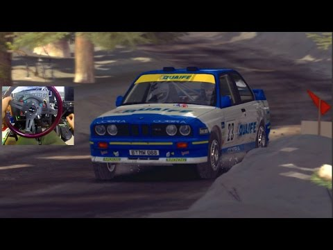 Dirt Rally GoPro BMW E30 vs Sweden Snow!! +Dirt Daily Live