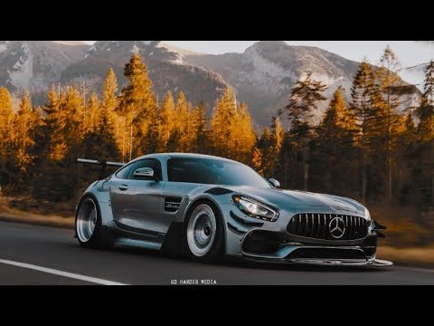 Mercedes AMG GT S Widebody  | Chasing The Sun | 4K