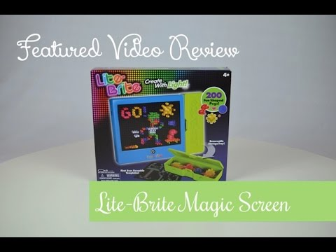 photo regarding Lite Brite Refill Sheets Printable Free identified as Showcased Video clip Research ~ Lite Brite Magic Display screen