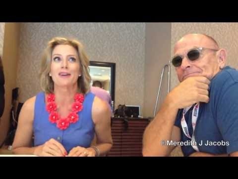 PSYCH's Kirsten Nelson and Corbin Bernsen on Chief Vick's Suspension and More at Comic-Con 2013