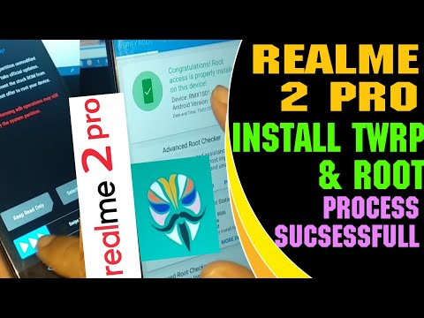 Realme 2 Pro TWRP Installations || Step by Step Method With New Tool || How install TWRP in Realme,.