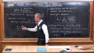 Урок 458. Обзор квантовой теории атома водорода