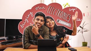 Epi. 2 - Buying Our Electronics | Chennai | Home With Love Series