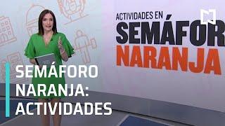 ¿qué Actividades Se Pueden Hacer Con Semáforo Sanitario En Naranja? - Despierta
