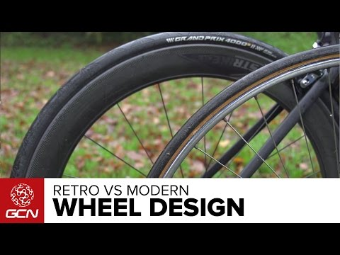 Retro Wheels vs New Wheels - How Have Modern Bicycle Wheels Evolved?