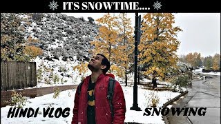 When Snow Season Starts||INDIAN VLOGGER PRATHAMESH