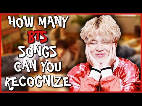 CAN YOU RECOGNIZE BTS SONGS IN 1 SECOND [HARDCORE VER.]