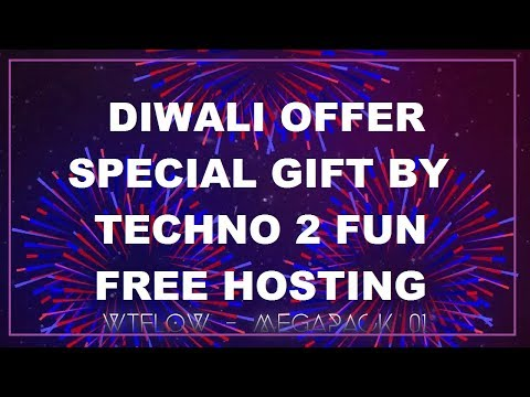 DIWALI GIFT FOR EVERYONE BY TECHNO 2 FUN AND MANA HOST | GET FREE HOSTING | DIWALI DHAMAKA