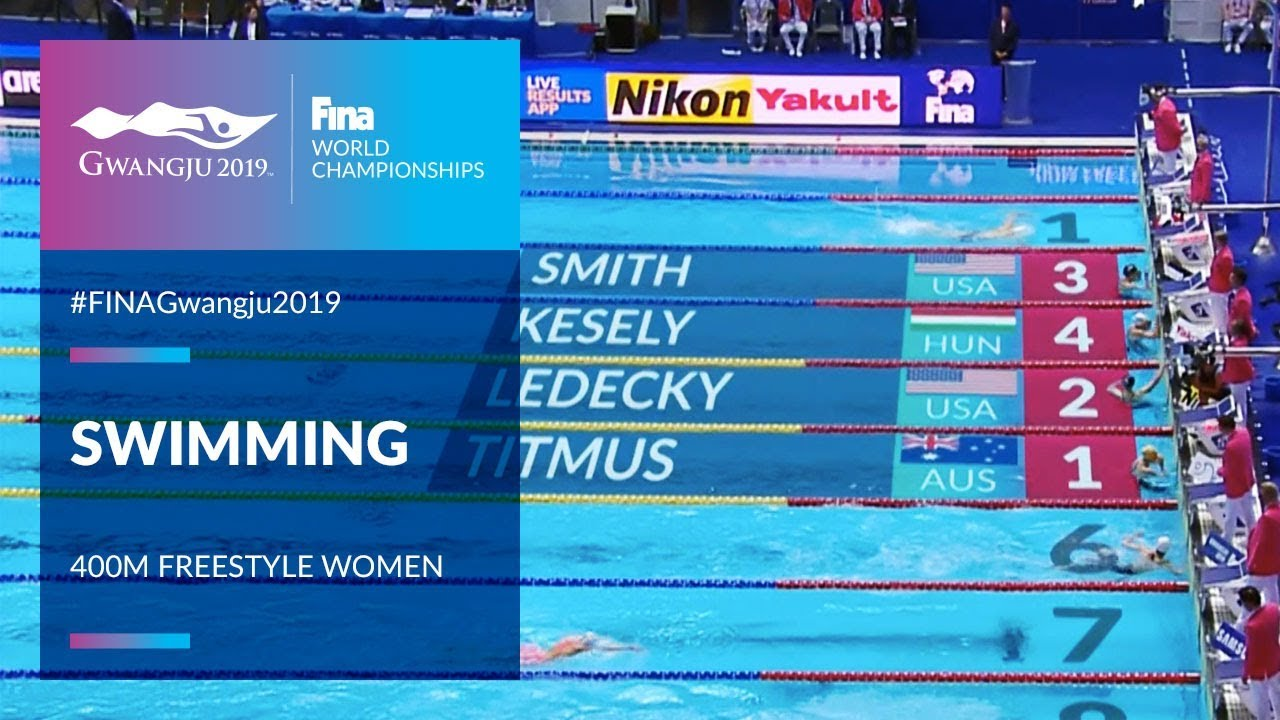 Best Olympic Moments 2019 Swimming Women   400m Freestyle | Top Moments | FINA World