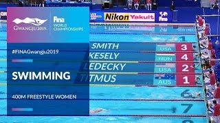 Swimming Women - 400m Freestyle | Top Moments | FINA World Championships 2019 - Gwangju