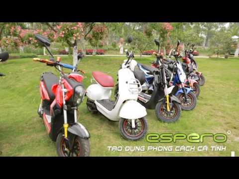 Quảng cáo xe máy điện Detech Espero