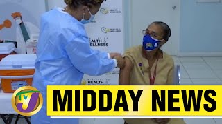 1st Jamaican to Receive Covid-19 Vaccine - March 10 2021