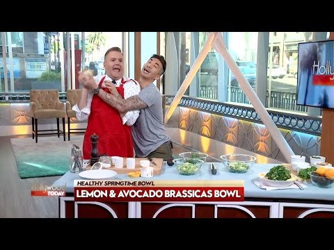 Healthy Brassicas Bowl With Chef Ronnie Woo & Ross Mathews