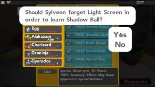 TM SHADOW BALL!!! | [#42] Pallone di Pokemon Bronzo Roblox