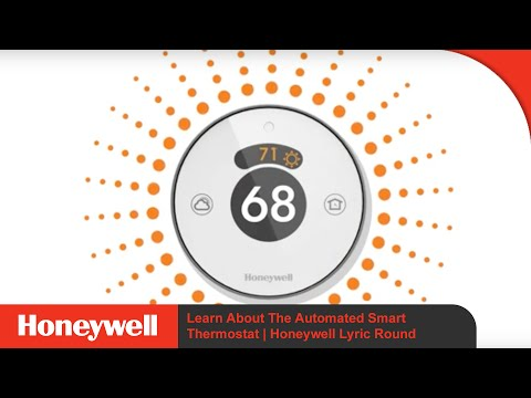Honeywell Lyric Round | Second Generation | Learn About The Automated Smart Thermostat