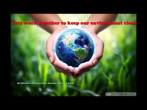 GO GREEN! An environment friendly video.