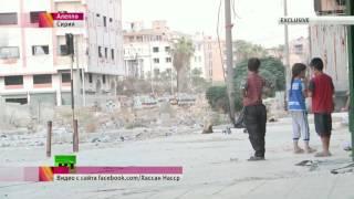 Видеосвидетельство зверств террористов, прицельно стреляющих по детям в Сирии