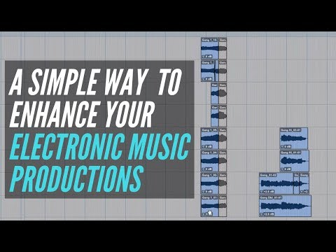 A Simple Way To Enhance Your Electronic Music Productions – RecordingRevolution.com