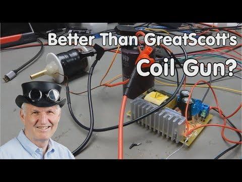 #221 Better than GreatScott's Coil Gun? A true story, how-to not do it