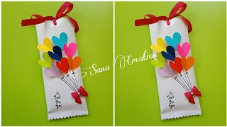 Friendship Day Gift Idea • Chocolate Gift Idea • Gift For Her • #papercraft #paperthings