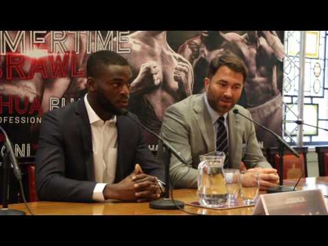 EDDIE HEARN SIGNS OLYMPIC STAR JOSHUA BUATSI - FULL PRESS CONFERENCE (DEBUT - JULY 1ST @ 02)