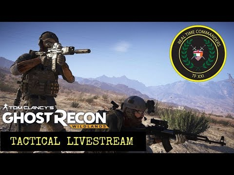 Ghost Recon Wildlands: Operation Neptune Spear: Tactical livestream